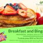 Upcoming Event: Breakfast and Bingo!